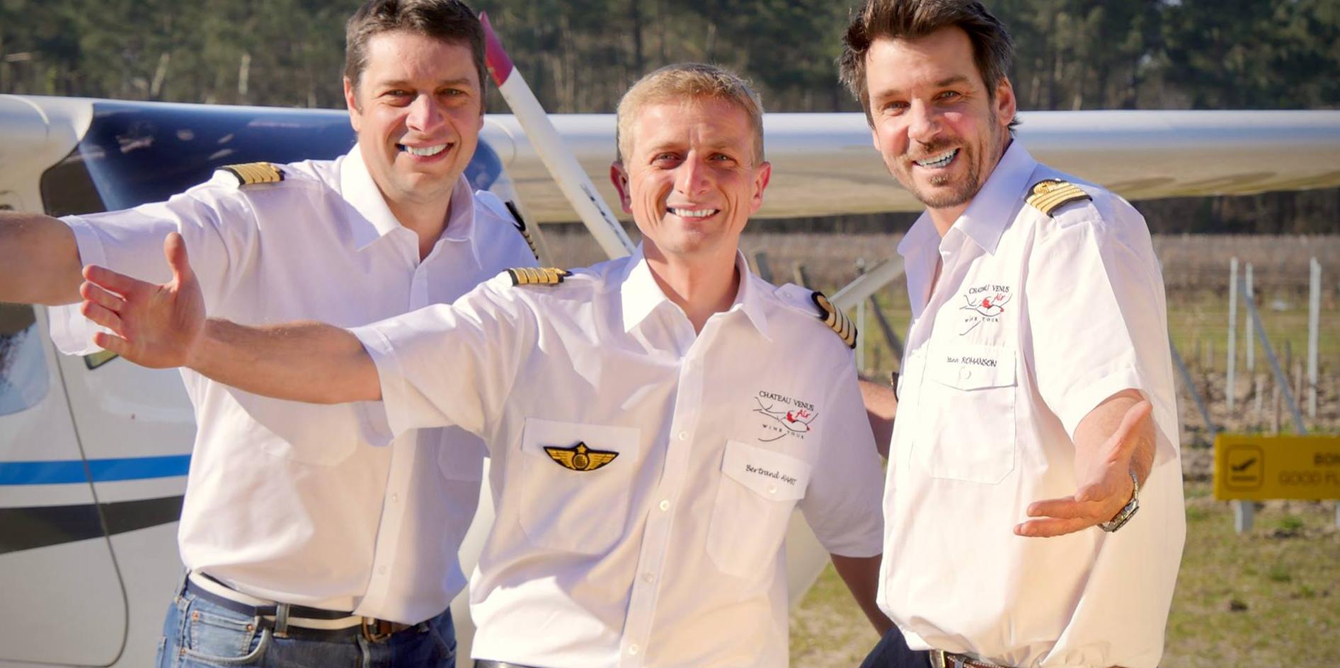 3 pilotes